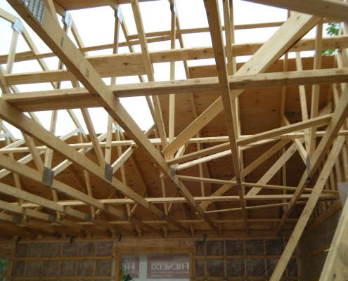 Maison neuve, multiplex neuf, ossature de bois, FEXA Entrepreneur Général Construction