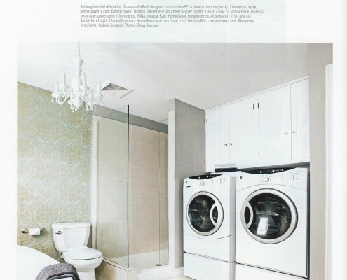 Parutions FEXA, Je décore Hors Série Salles de bains Avant Après, réaménagement salle de bain, rénovation salle de bain