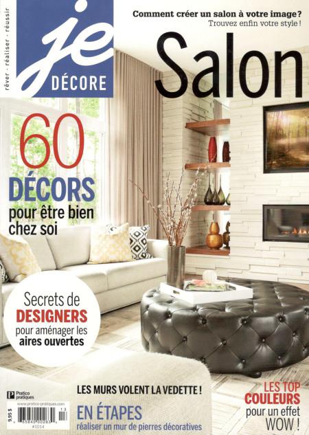 Parutions FEXA, Je Décore Salon Rénovation