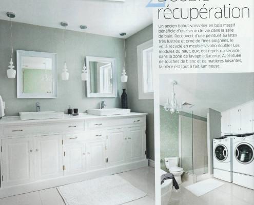 Parutions FEXA, Je décore Salle de Bain Vol. 9. no 4, Rénovation salle de bain, deco salle de bain