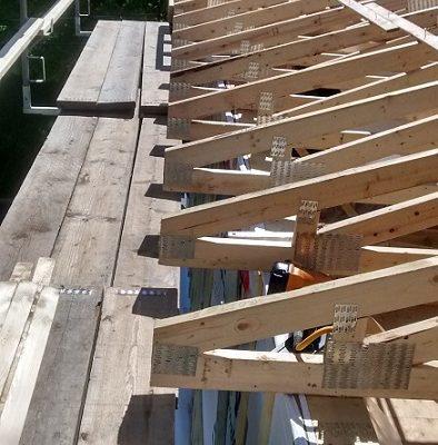 Construction maison neuve, fermes de toit érigées par FEXA Construction, Entrepreneur général