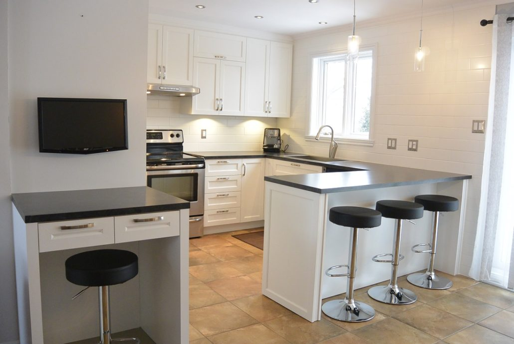 Fexa r novation de salle de bain armoire de cuisine et for Armoires de cuisine shaker