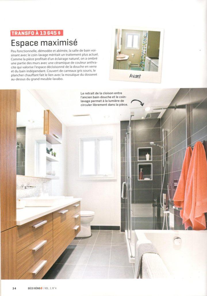 Fexa r novation de salle de bain armoire de cuisine et - Reno salle de bain quebec ...