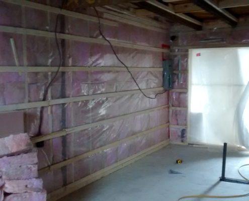 Rénovation isolation, avant Gypse, électricité, plomberie à la finition, aménagement pièces, FEXA Rénovation, entrepreneur général